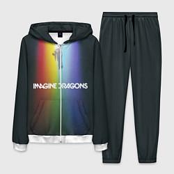 Костюм мужской Imagine Dragons цвета 3D-белый — фото 1