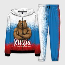 Костюм мужской Russian Bear цвета 3D-черный — фото 1