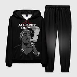 Костюм мужской 2Pac: All Eyez On me цвета 3D-черный — фото 1