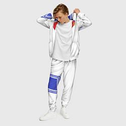 Костюм мужской Сейлор Мун цвета 3D-белый — фото 2