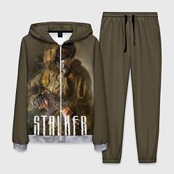 Костюм мужской STALKER: Warrior цвета 3D-меланж — фото 1