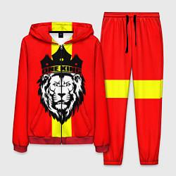 Костюм мужской One Lion King цвета 3D-красный — фото 1