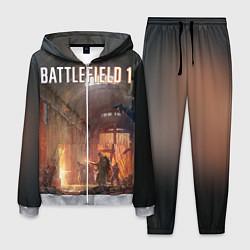 Костюм мужской Battlefield War цвета 3D-меланж — фото 1