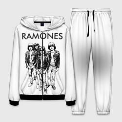 Костюм мужской Ramones Party цвета 3D-черный — фото 1