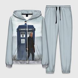 Костюм мужской Доктор кто цвета 3D-меланж — фото 1