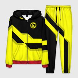 Костюм мужской BVB FC: Yellow style цвета 3D-красный — фото 1