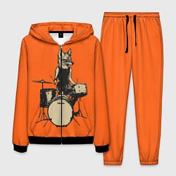 Костюм мужской Drums Fox цвета 3D-черный — фото 1