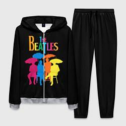 Костюм мужской The Beatles: Colour Rain цвета 3D-меланж — фото 1