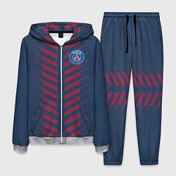 Костюм мужской FC PSG: Creative цвета 3D-меланж — фото 1