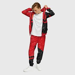 Костюм мужской FCMU: Red & Black Star цвета 3D-красный — фото 2