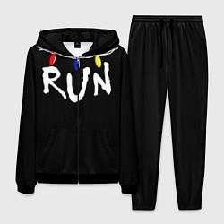 Костюм мужской Stranger Things RUN цвета 3D-черный — фото 1