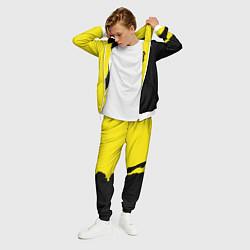 Костюм мужской PUBG: Yellow Shadow цвета 3D-белый — фото 2