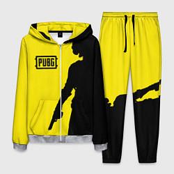 Костюм мужской PUBG: Yellow Shadow цвета 3D-меланж — фото 1