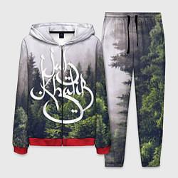 Костюм мужской Jah Khalib: Green Forest цвета 3D-красный — фото 1