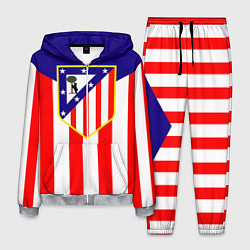 Костюм мужской FC Atletico Madrid цвета 3D-меланж — фото 1