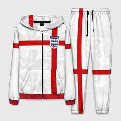 Костюм мужской Сборная Англии цвета 3D-красный — фото 1