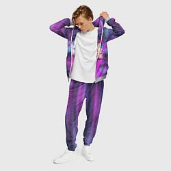 Костюм мужской Lil Peep: Glitch цвета 3D-меланж — фото 2