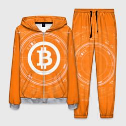 Костюм мужской Bitcoin Tech цвета 3D-меланж — фото 1