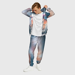 Костюм мужской Skillet: Korey Cooper цвета 3D-меланж — фото 2