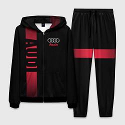 Костюм мужской Audi: Black Sport цвета 3D-черный — фото 1