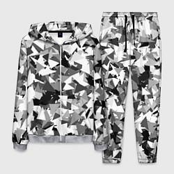 Костюм мужской Городской серый камуфляж цвета 3D-меланж — фото 1