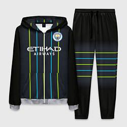 Костюм мужской FC Manchester City: Away 18/19 цвета 3D-меланж — фото 1