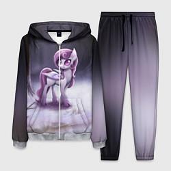 Костюм мужской Violet Pony цвета 3D-меланж — фото 1