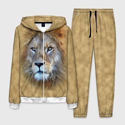 Костюм мужской Песчаный лев цвета 3D-белый — фото 1