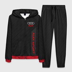 Костюм мужской Audi: Sport Line цвета 3D-красный — фото 1