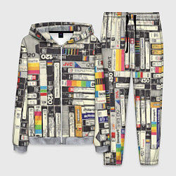 Костюм мужской VHS-кассеты цвета 3D-меланж — фото 1