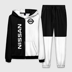 Костюм мужской Nissan B&W цвета 3D-черный — фото 1