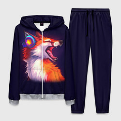 Костюм мужской Disco Fox цвета 3D-меланж — фото 1