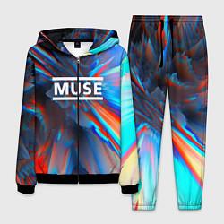 Костюм мужской Muse: Colour Abstract цвета 3D-черный — фото 1