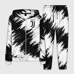 Костюм мужской FC Juventus цвета 3D-белый — фото 1