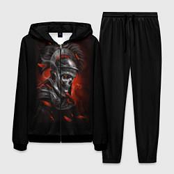 Костюм мужской Мертвый легионер цвета 3D-черный — фото 1