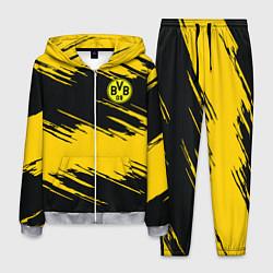 Костюм мужской BVB 09: Yellow Breaks цвета 3D-меланж — фото 1