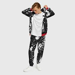 Костюм мужской Paramore: Black & White цвета 3D-красный — фото 2