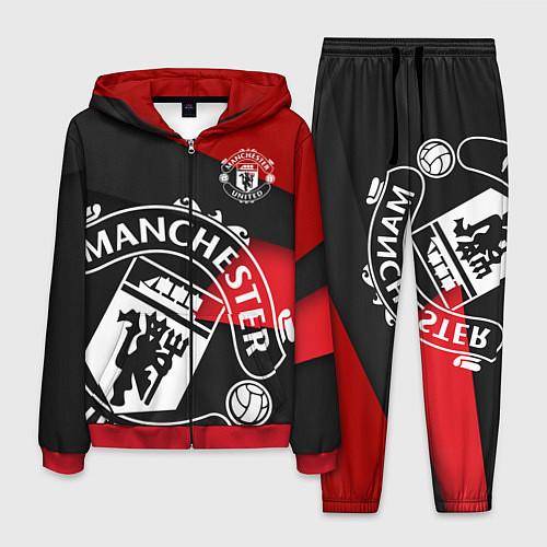 Мужской костюм FC Man United: Exclusive / 3D-Красный – фото 1