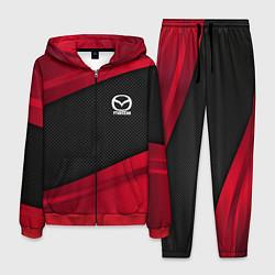 Костюм мужской Mazda: Red Sport цвета 3D-красный — фото 1
