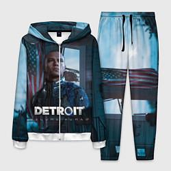 Костюм мужской Detroit: Markus цвета 3D-белый — фото 1