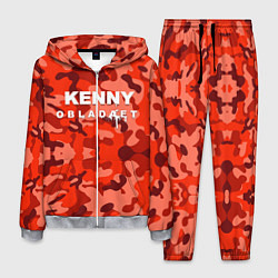 Костюм мужской Kenny: Obladaet Camo цвета 3D-меланж — фото 1