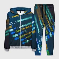 Костюм мужской Programming Collection цвета 3D-меланж — фото 1
