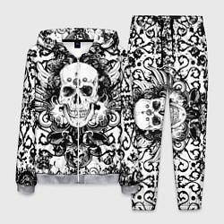 Костюм мужской Grunge Skull цвета 3D-меланж — фото 1