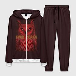 Костюм мужской Twin Peaks: Red Owl цвета 3D-белый — фото 1