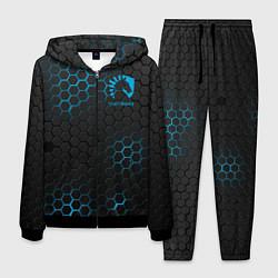 Костюм мужской Team Liquid: Carbon Style цвета 3D-черный — фото 1