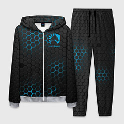 Костюм мужской Team Liquid: Carbon Style цвета 3D-меланж — фото 1