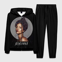 Костюм мужской Rihanna цвета 3D-черный — фото 1