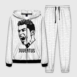 Костюм мужской Juve Ronaldo цвета 3D-черный — фото 1