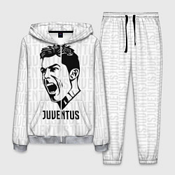 Костюм мужской Juve Ronaldo цвета 3D-меланж — фото 1