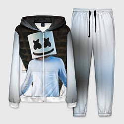 Костюм мужской Marshmallow Electronic цвета 3D-белый — фото 1